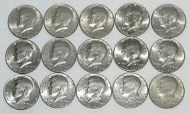 Lot of 15 Kennedy 1976 Bicentennial Half Dollars - $18.70