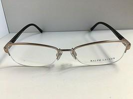 New Ralph Lauren RL 5550 2591 Semi-Rimless Gold Eyeglasses Frame w/case  - $149.99