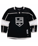 New Adidas Los Angeles Kings Climalite Authentic Jersey Black Size 50 Me... - $79.99
