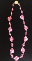 *Radiant Vintage Pink Crystal Necklace #50 - $59.99