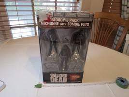NEW 2013 McFarlane Toys AMC The Walking Dead Michonne Zombie Pets Bloody... - $84.14