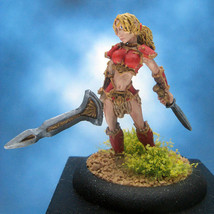 Painted Reaper Miniature Marda of the Blade - $57.12
