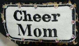 Pinky Bolle Brand Decorative Womans Hat Black Cheer Mom Patch image 3