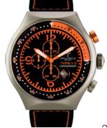 Montres De Luxe Milano Men's Type 12 Nero All-Aluminum 50 x 55 MM Date C... - $261.25