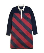 New Tommy Hilfiger Women's Rugby Shirt Dress Multi Size XS - $45.18