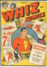 WHIZ #66 1945-FAWCETT-CAPT MARVEL-GOLDEN ARROW-WOLVERTON-SPY SMASHER-vf ... - $206.13
