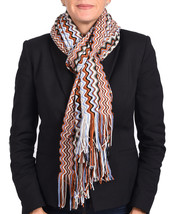 Missoni Women Classic Zig Zag Knit Scarf Shawl ... - $98.01