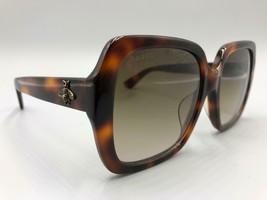 GUCCI GG0096SA 002 Havana Frames Brown Lens Sunglasses  55-18-145 Made i... - $313.73