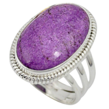 Special Sale, Beautiful Purpurite Ring Size 8 US or Q UK , 925 Silver, H... - $24.00