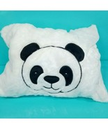 Panda Bear Plush Stuffed Animal Peek a Boo Zip up Transforms Pillow To P... - $21.77