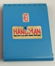 1976 HANGMAN Board Game BLUE REPLACEMENT BOARD ONLY with Letters - $5.89