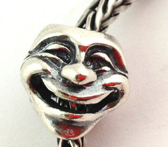 Authentic Trollbeads Theatre Masks Sterling Silver Bead Charm 11315, New - $24.69
