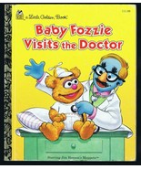 ORIGINAL Vintage 1995 Baby Fozzie Visits the Doctor Muppet Babies Golden... - $9.49