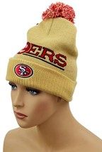 NEW FORTY SEVEN 47 BOY'S HAT BEANIE NFL SAN FRANCISCO 49ERS FITS SIZE 8-20