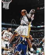 Jermaine O'Neal signed Indiana Pacers basketball 8x10 photo COA - $64.99