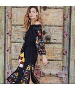 Anthropologie Seine Off-The-Shoulder Dress by Misa $328 Sz XS - NWT - $152.99