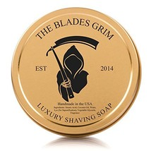 The Blades Grim Gold Luxury Shaving Soap. image 1