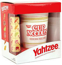 Factory sealed, new  Yahtzee Cup of Noodles Dice game Usaopoly Just rele... - $21.33