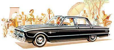 Primary image for 1960 Mercury Frontenac - Promotional Advertising Poster