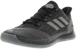 Adidas Men's Harden B-E 2 Basketball Shoes, Black/Dark Grey, Size 12 M US - $57.02