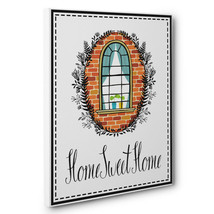 Home Sweet Home Quote CANVAS Wall Art Home Décor - $28.22