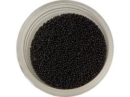 Micro Beads, Black, Embellishment for your crafting Project image 2