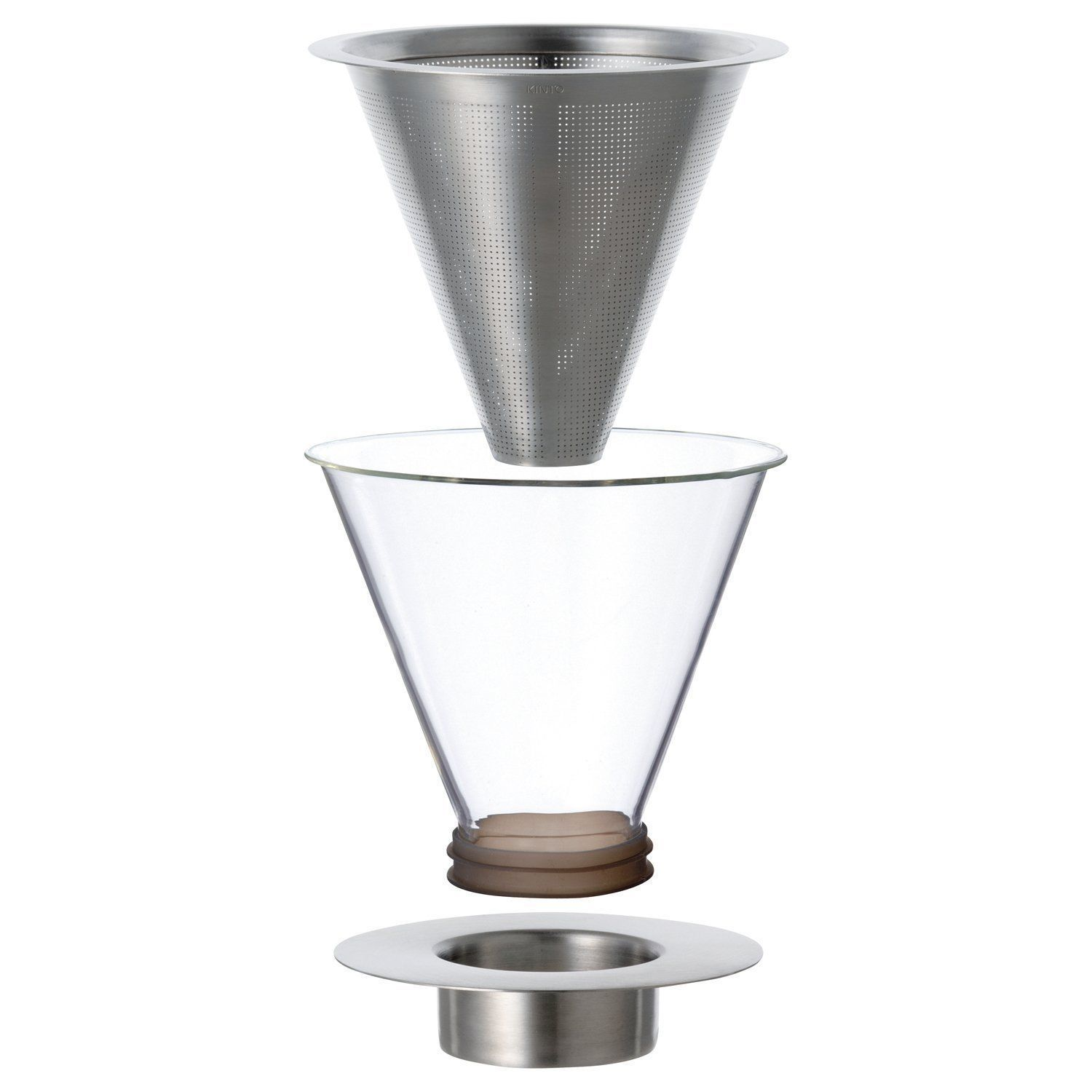 700 ml Carat Coffee Dripper and Pot with Lid by Kinto image 3