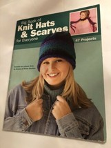Big Book Of Knit Hats And Scarves For Everyone - $11.39