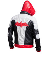 Batman Arkham Knight Game Red Hood Real Leather Jacket - $149.99