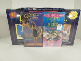 Richard Simmons 1994 Deal-a-Meal Kit bundled with VHS tapes NEW SEALED - $69.99