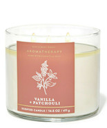 Bath & Body Works Aromatherapy Vanilla + Patchouli 14.5 Ounces Scented C... - $23.95