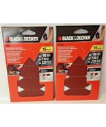 Black & Decker BDAMFT Mouse 15 Piece Fingertip Finishing / Detail Sandpa... - $5.94