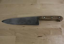 "Vintage Dexter Chefs Kitchen Knife 4898 Forged Carbon Steel 8.5"" Blade - $29.99"