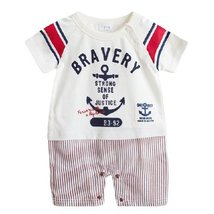 Casual Style Baby Bodysuit Infant Onesies Toddler One-piece Romper WHITE