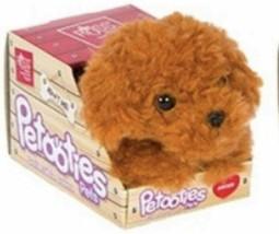 "RUSS Petooties Pets SOFT MOCHA THE BROWN POODLE DOG 6"" Plush STUFFED ANI... - $9.13"