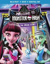 Monster High-Welcome To Monster High (Blu Ray/DVD W/Digital Hd) (2Discs)