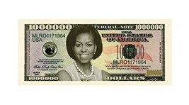 Set of 50 Bills - Michelle Obama (First Lady/First Family) Million Dolla... - $13.98