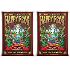 (2) Foxfarm FX14047 Happy Frog Organic Potting Soil Bags | 4 Cu Ft - $71.82