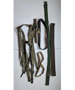 Vintage Army Surplus Belts Straps Harness - $9.89