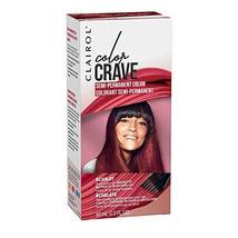 Clairol Color Crave Semi-permanent Hair Color, Scarlet - $6.43