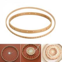 Round Wooden Knitting Loom DIY Craft Weaving Tool Handmade Wall Hanging ... - $13.10 CAD+
