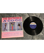 The Supremes ‎– A' Go Go - Vinyl LP Record - Tamla Motown - Diana Ross - $5.93