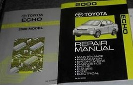 2000 Toyota Echo Service Repair Shop Workshop Manual Set OEM W EWD ETM - $148.45