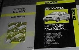 2000 Toyota Echo Service Repair Shop Workshop Manual Set OEM W EWD ETM - $148.45