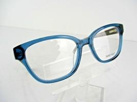 Nine West NW 5113 (424) Blue Crystal 52 x 17 135 mm Eyeglass Frames - $65.41