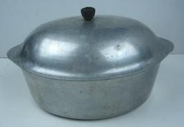 Vintage Dutch Oven Roaster Cast Aluminum Cookware Household Institute  - $17.77