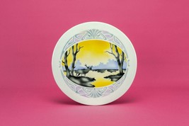 Hot Dish Table Platter or Coaster, Antique Germ... - $36.48