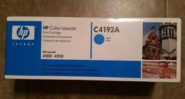 HP Color Laserjet C4192A HP Cyan Laserjet series 4500-4550 - $11.64