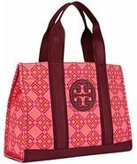 Tory Burch 4T Printed Canvas Tote. Women's Handbag (Honeysuckle) - $207.89