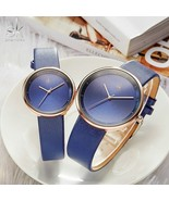 SK® Watches High Quality Brand Quartz Couple Watch Set Leather Watches F... - $29.79+
